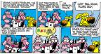 Cartoonist Mike Peters  Mother Goose and Grimm 2014-02-23 cannot tell a lie