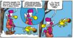 Cartoonist Mike Peters  Mother Goose and Grimm 2018-02-04 cold