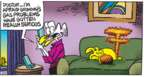 Cartoonist Mike Peters  Mother Goose and Grimm 2019-05-19 Grimm