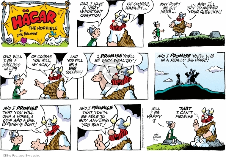 Comic books in Hagar the Horrible PB Series