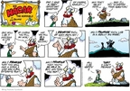 Comic Strip Chris Browne  Hagar The Horrible 2009-02-15 horse