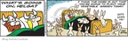 Cartoonist Chris Browne  Hagar The Horrible 2009-04-22 gardening