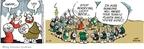 Cartoonist Chris Browne  Hagar The Horrible 2009-11-24 gardening