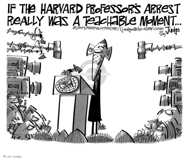 Lee Judge  Lee Judge's Editorial Cartoons 2009-07-29 Barack Obama