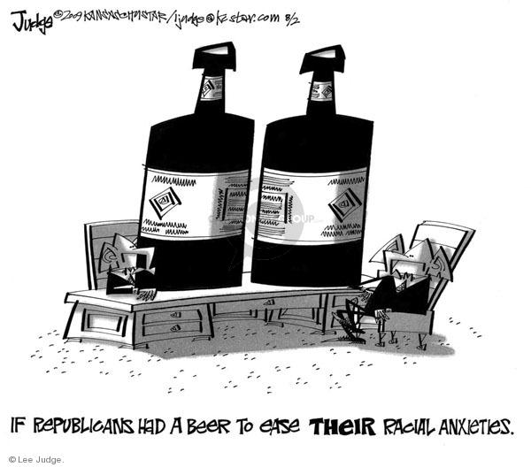 Lee Judge  Lee Judge's Editorial Cartoons 2009-02-26 racism