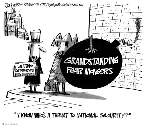 Cartoonist Lee Judge  Lee Judge's Editorial Cartoons 2009-08-05 republican