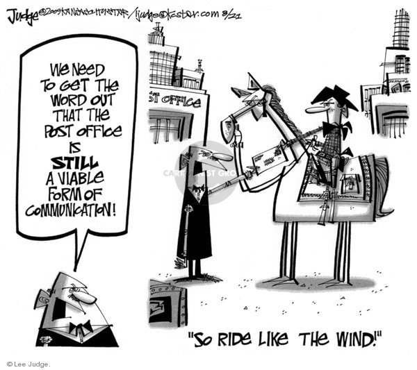 Lee Judge  Lee Judge's Editorial Cartoons 2009-08-21 judge