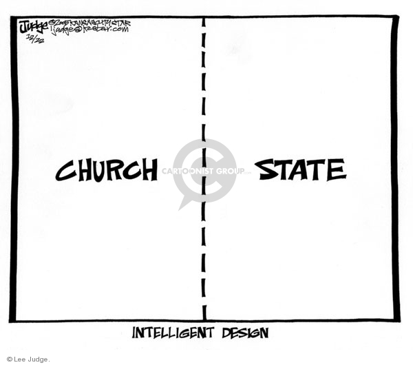 Lee Judge  Lee Judge's Editorial Cartoons 2005-12-22 states rights