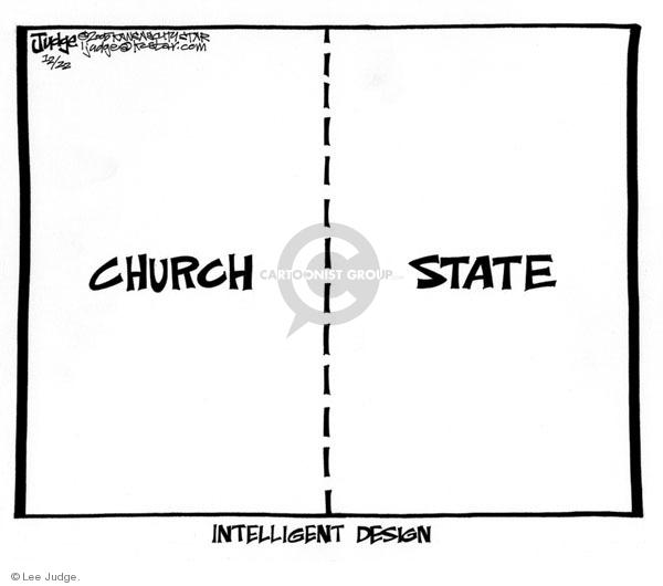 Cartoonist Lee Judge  Lee Judge's Editorial Cartoons 2005-12-22 rights