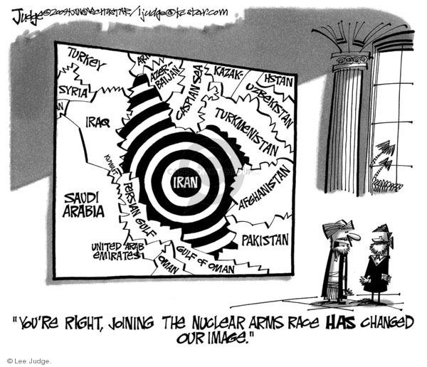 Lee Judge  Lee Judge's Editorial Cartoons 2009-10-01 United Arab Emirates