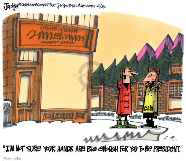 Cartoonist Lee Judge  Lee Judge's Editorial Cartoons 2010-02-11 size
