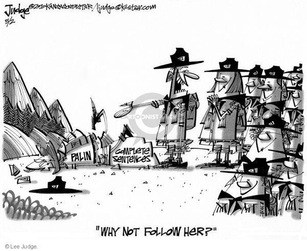 Lee Judge  Lee Judge's Editorial Cartoons 2010-05-02 speak