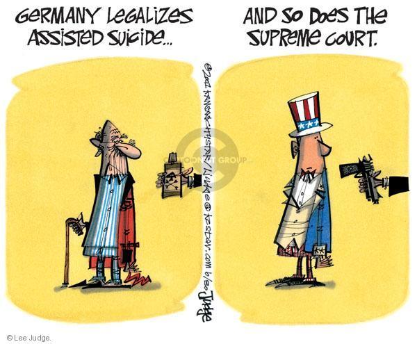 Cartoonist Lee Judge  Lee Judge's Editorial Cartoons 2010-06-30 amendment