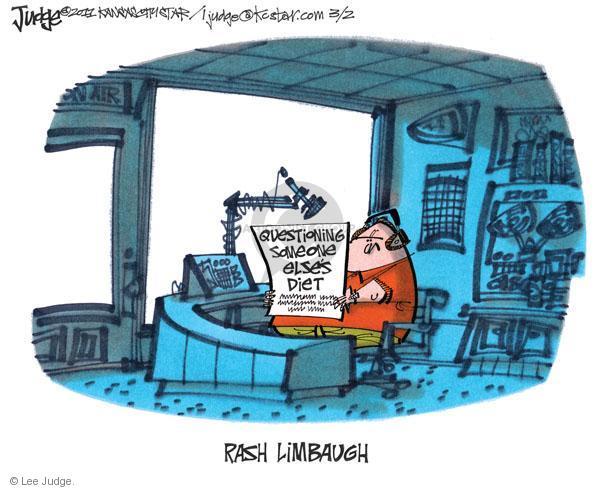 Cartoonist Lee Judge  Lee Judge's Editorial Cartoons 2011-03-02 first lady