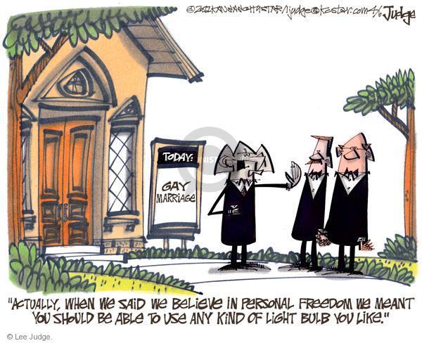 Lee Judge  Lee Judge's Editorial Cartoons 2011-04-06 liberty
