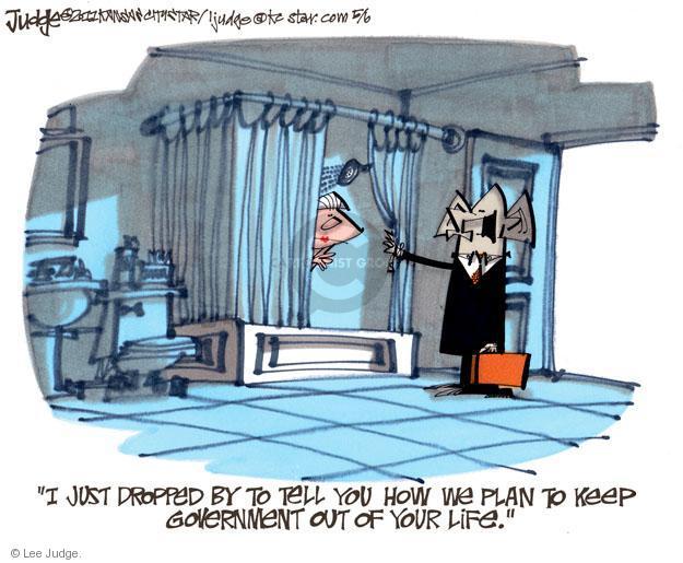 Lee Judge  Lee Judge's Editorial Cartoons 2011-05-06 federal budget