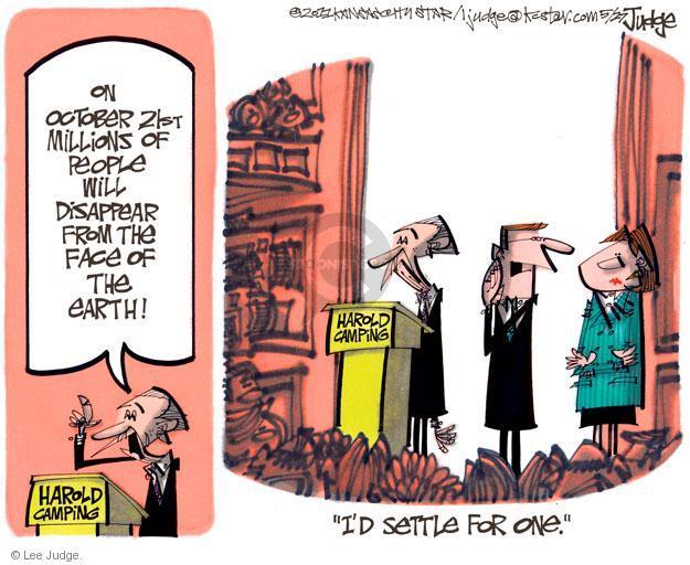 Lee Judge  Lee Judge's Editorial Cartoons 2011-05-27 21st
