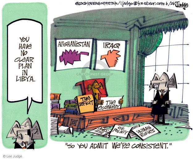 Cartoonist Lee Judge  Lee Judge's Editorial Cartoons 2011-06-26 Iraq oil