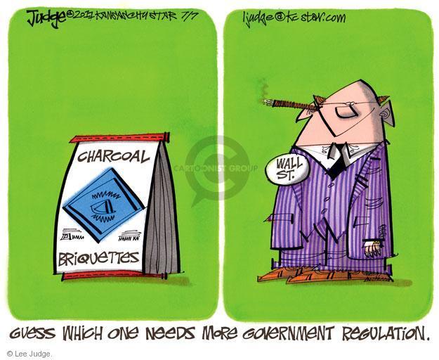 Lee Judge  Lee Judge's Editorial Cartoons 2011-07-07 bank