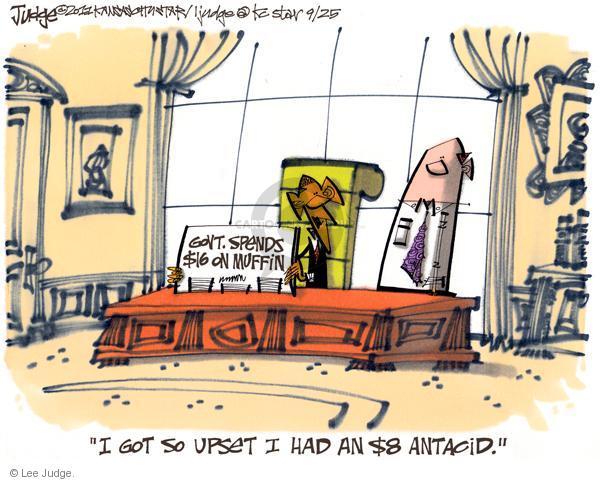 Lee Judge  Lee Judge's Editorial Cartoons 2011-09-25 $16