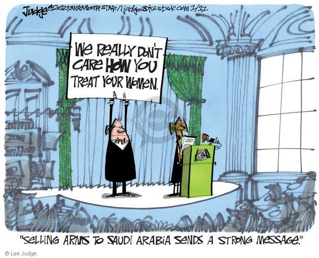 Lee Judge  Lee Judge's Editorial Cartoons 2012-01-11 equal rights