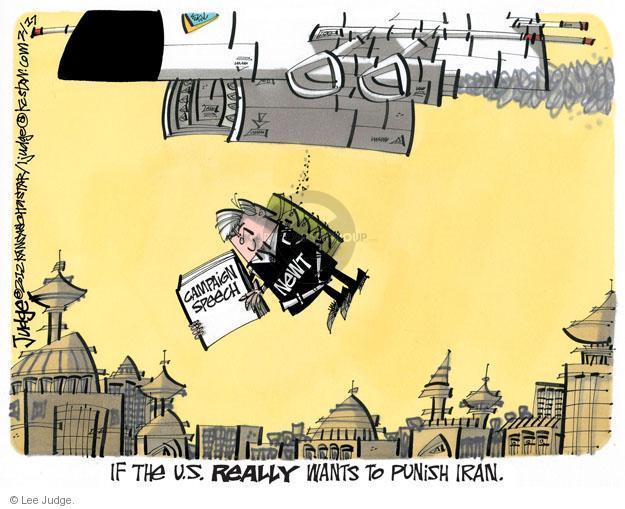 Lee Judge  Lee Judge's Editorial Cartoons 2012-02-17 Speaker of the House