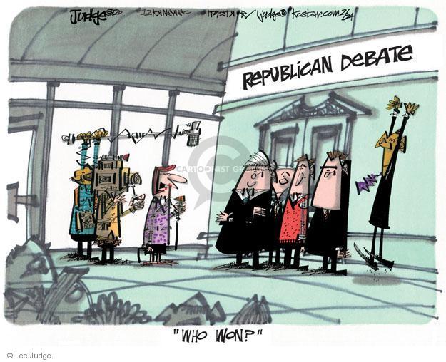 Lee Judge  Lee Judge's Editorial Cartoons 2012-02-24 Speaker of the House