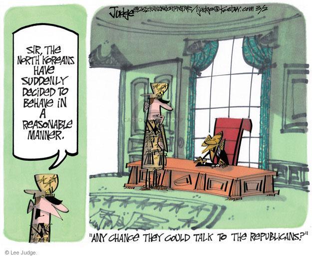 Cartoonist Lee Judge  Lee Judge's Editorial Cartoons 2012-03-01 talk
