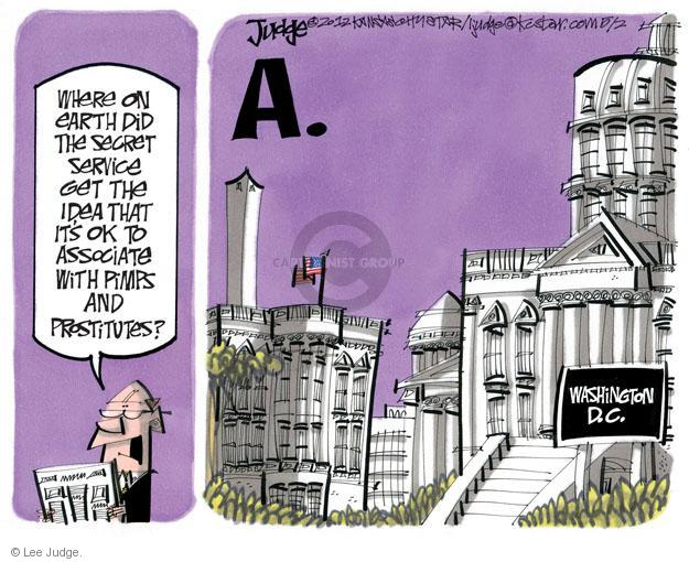 Lee Judge  Lee Judge's Editorial Cartoons 2012-05-02 political lobby