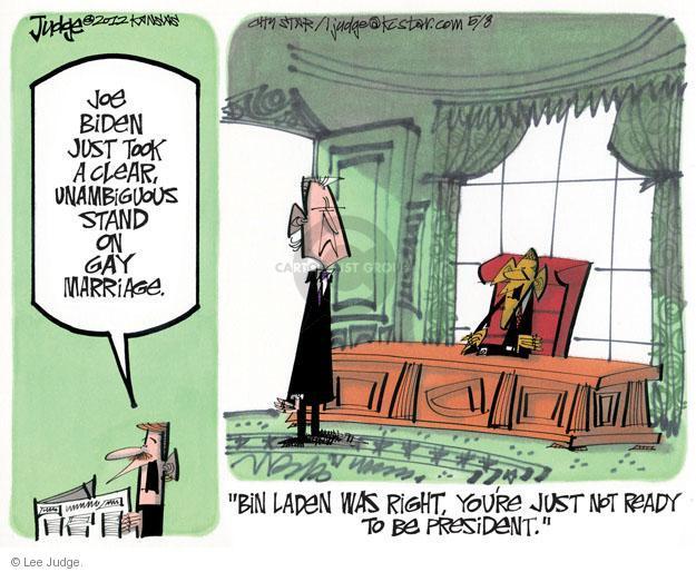 Lee Judge  Lee Judge's Editorial Cartoons 2012-05-08 Joe Biden