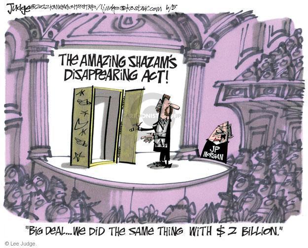 Lee Judge  Lee Judge's Editorial Cartoons 2012-06-05 bank
