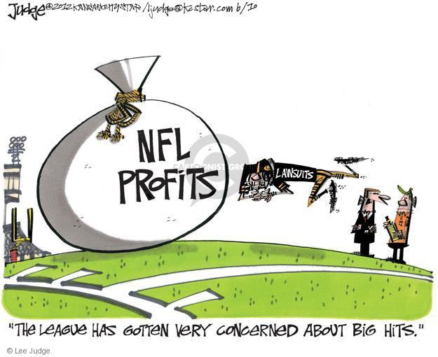 Lee Judge  Lee Judge's Editorial Cartoons 2012-06-10 lawsuit