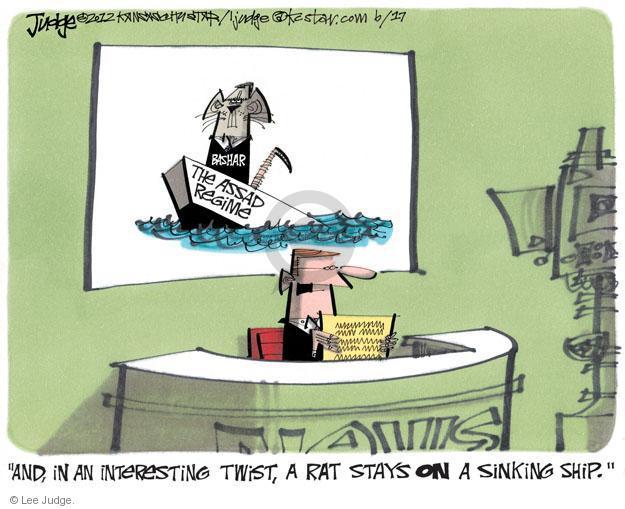 Lee Judge  Lee Judge's Editorial Cartoons 2012-06-17 violent