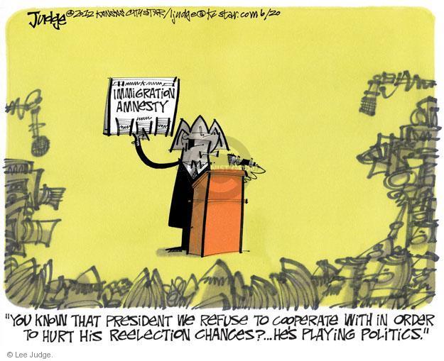Cartoonist Lee Judge  Lee Judge's Editorial Cartoons 2012-06-20 unemployment