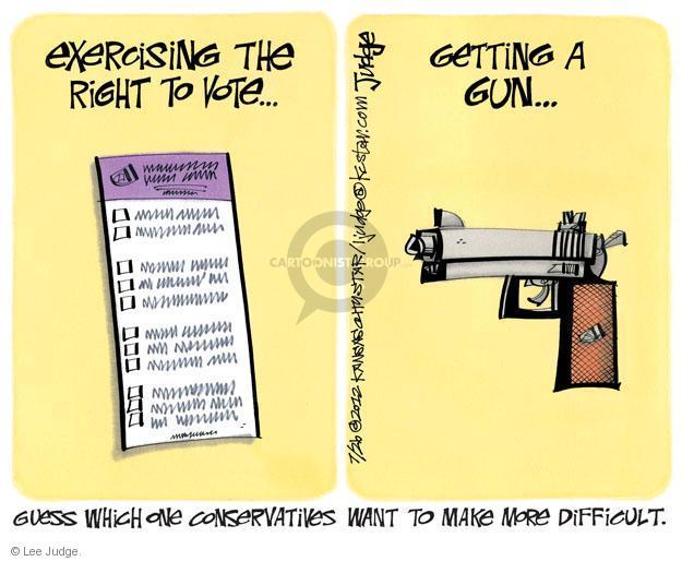 Lee Judge  Lee Judge's Editorial Cartoons 2012-07-26 violent
