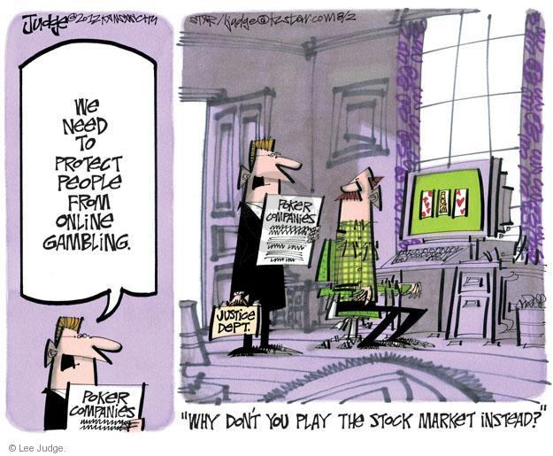 Lee Judge  Lee Judge's Editorial Cartoons 2012-08-02 stock market