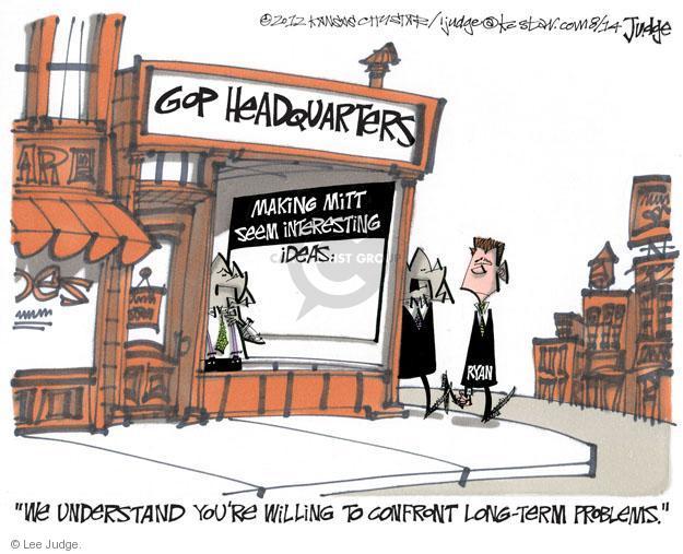 Cartoonist Lee Judge  Lee Judge's Editorial Cartoons 2012-08-14 representative