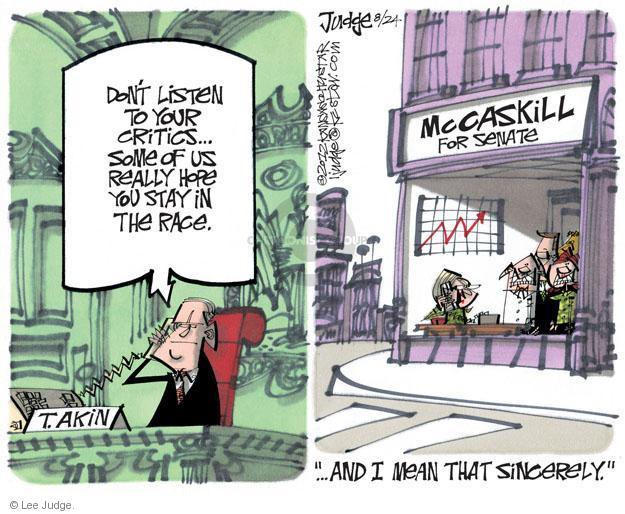 Cartoonist Lee Judge  Lee Judge's Editorial Cartoons 2012-08-24 representative