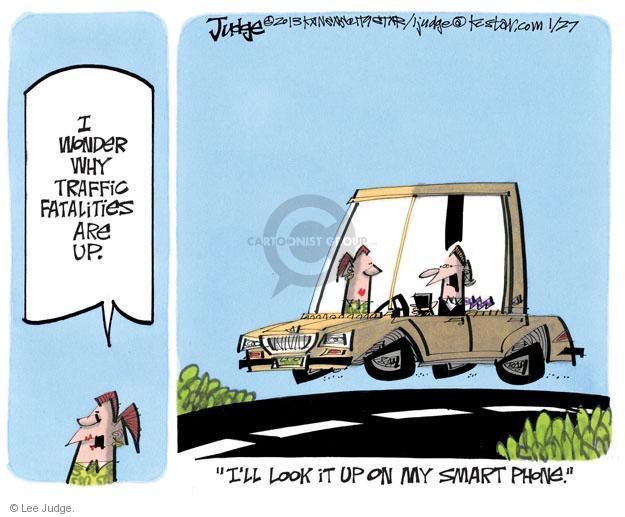 Lee Judge  Lee Judge's Editorial Cartoons 2013-01-27 highway