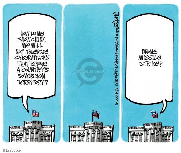 Lee Judge  Lee Judge's Editorial Cartoons 2013-03-19 territory