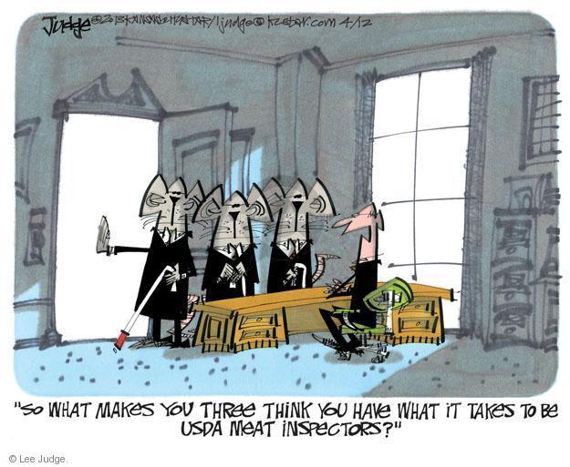 Lee Judge  Lee Judge's Editorial Cartoons 2013-04-12 blind