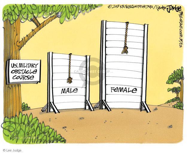 Cartoonist Lee Judge  Lee Judge's Editorial Cartoons 2013-05-12 wall