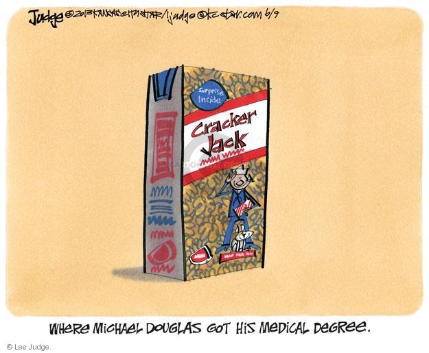 Cartoonist Lee Judge  Lee Judge's Editorial Cartoons 2013-06-09 HPV