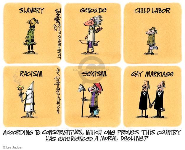 Lee Judge  Lee Judge's Editorial Cartoons 2013-07-02 racism