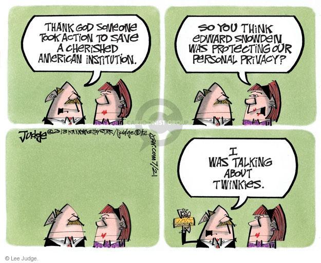 Cartoonist Lee Judge  Lee Judge's Editorial Cartoons 2013-07-21 talk