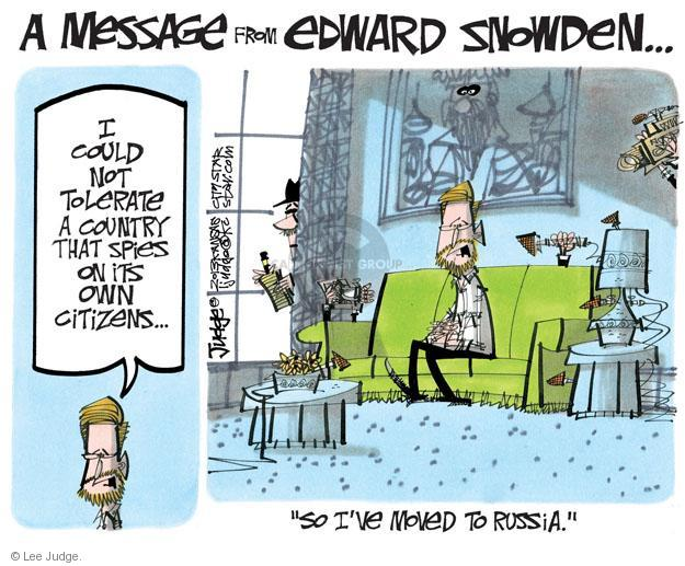Lee Judge  Lee Judge's Editorial Cartoons 2013-08-03 privacy