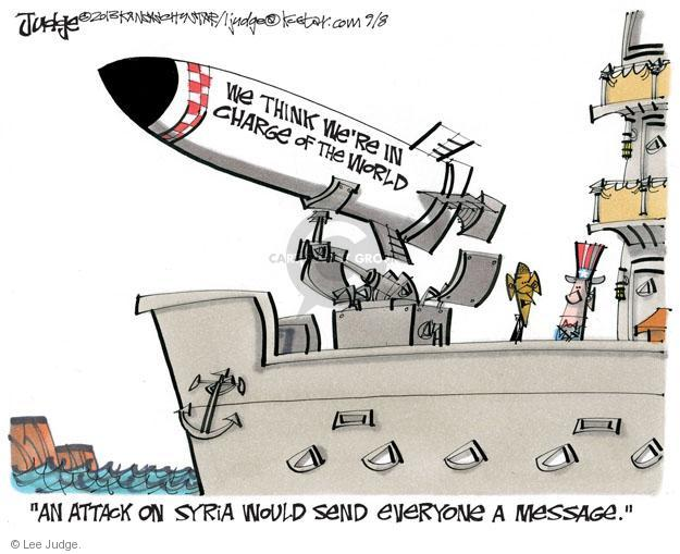 Cartoonist Lee Judge  Lee Judge's Editorial Cartoons 2013-09-08 send