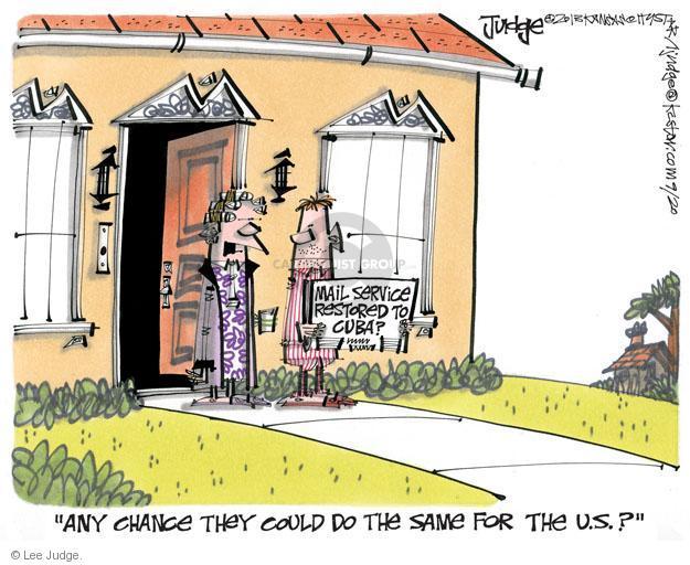 Lee Judge  Lee Judge's Editorial Cartoons 2013-09-20 mail