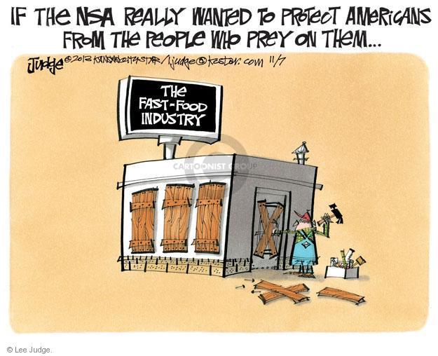 Lee Judge  Lee Judge's Editorial Cartoons 2013-11-07 privacy
