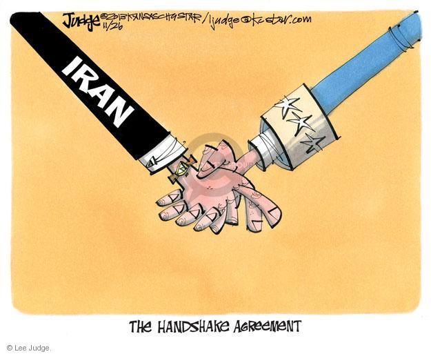 Lee Judge  Lee Judge's Editorial Cartoons 2013-11-26 diplomacy